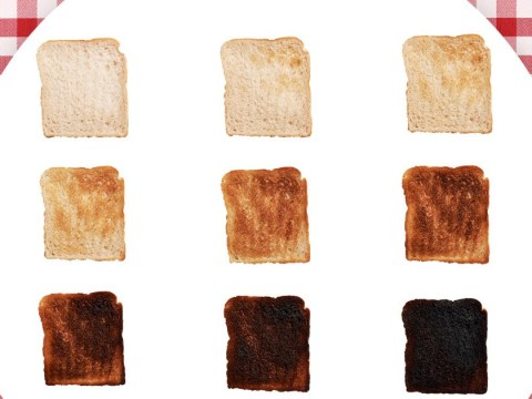 There's fierce debate over how burnt you should have your toast