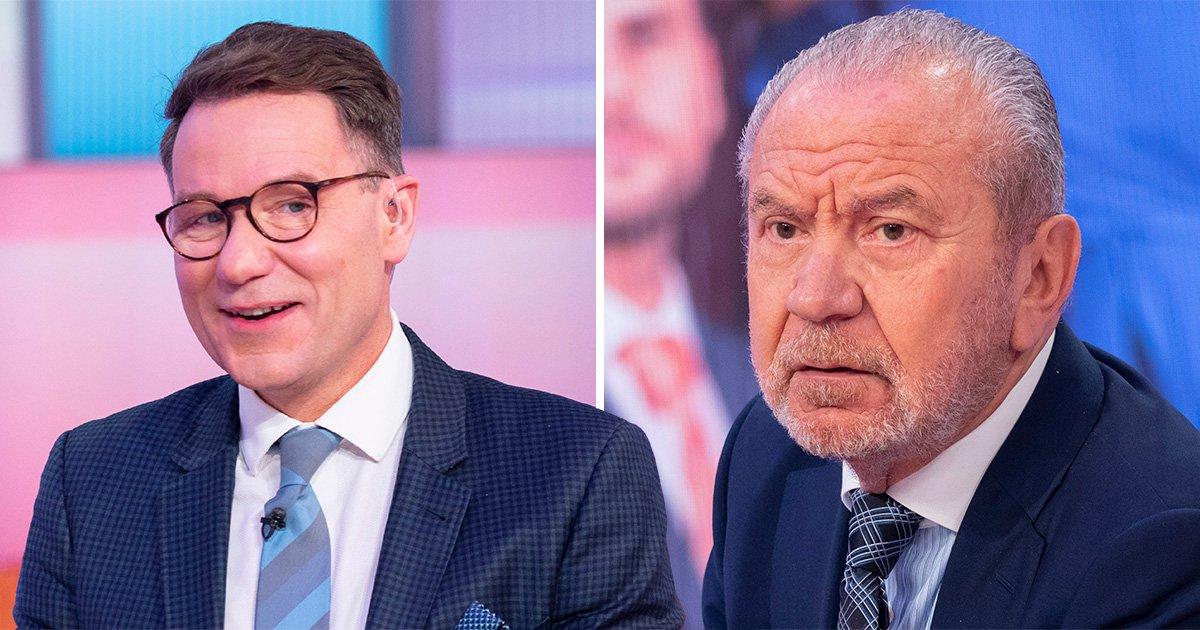 Alan Sugar 'slides into Richard Arnold's DMs' over Celebrity Apprentice appearance