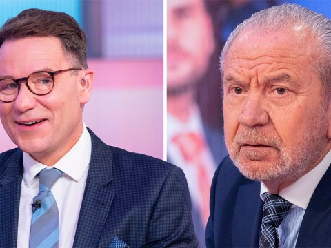 Alan Sugar 'slides into Richard Arnold's DMs' over Celebrity Apprentice appearance
