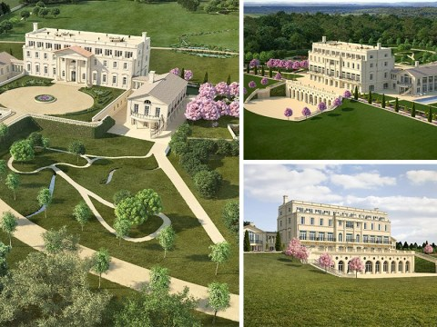 Plot of land which is set to be turned into an 80-roomed mansion is on sale for £20 million