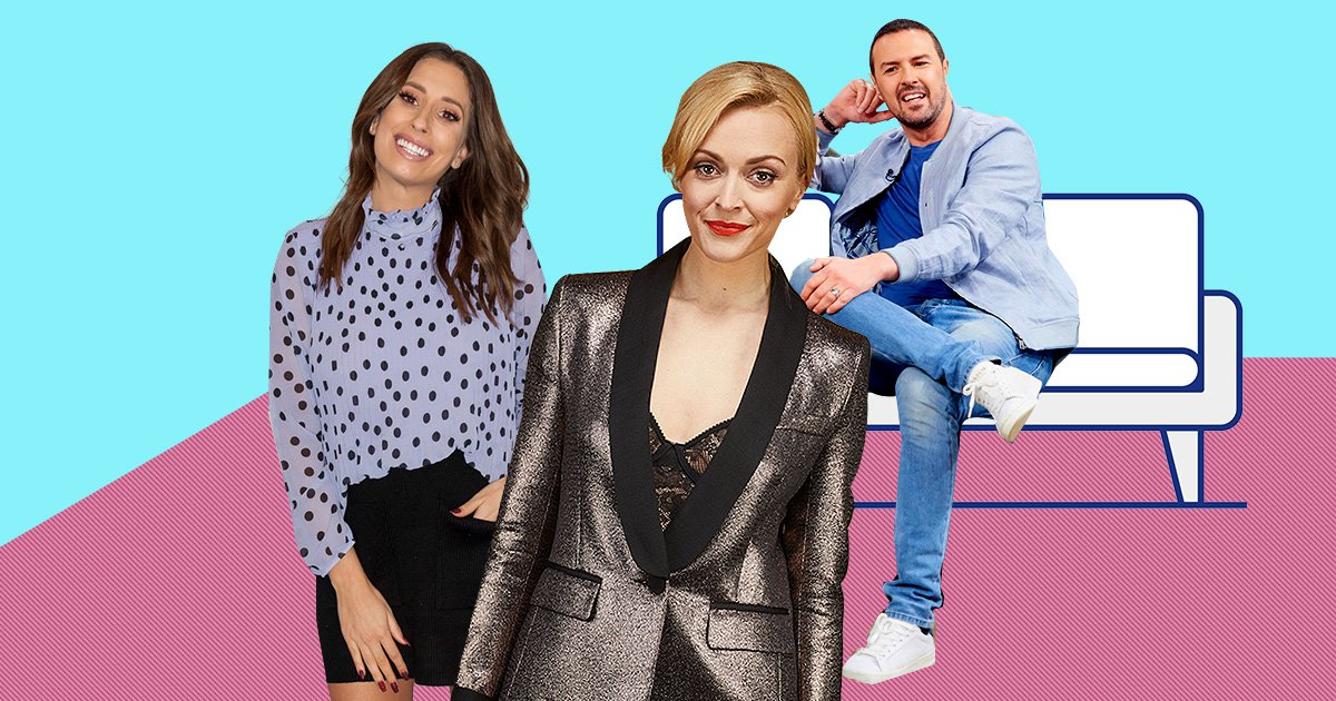 Fearne Cotton, Paddy McGuinness and Stacey Solomon