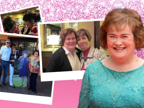 I'm Your Biggest Fan: Susan Boyle fanatic has multiple cardboard cut-outs of Britain's Got Talent star