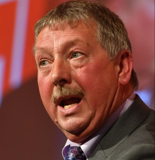 """DUP's Brexit spokesman Sammy Wilson speaks at a Leave Means Leave """"Save Brexit"""" rally at the Queen Elizabeth II Conference Centre in central London. PRESS ASSOCIATION Photo. Picture date: Friday December 14, 2018. See PA story POLITICS Brexit Rally. Photo credit should read: John Stillwell/PA Wire"""