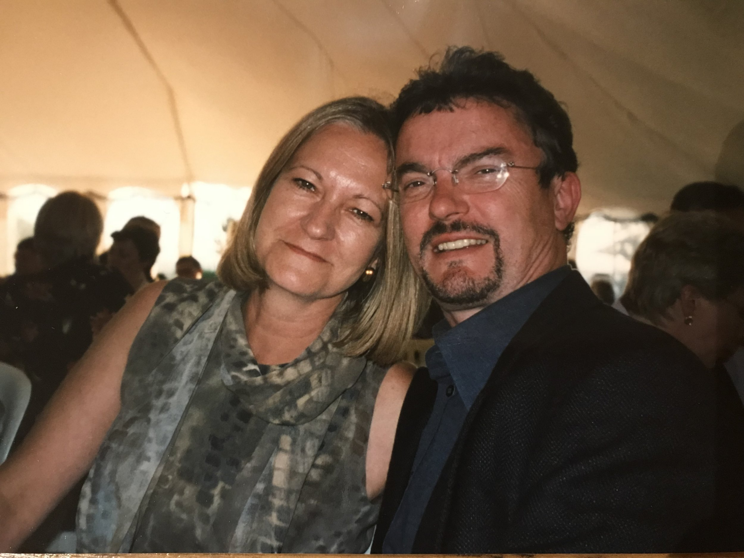 Sally Challen was jailed for murdering her husband Richard with a hammer in 2010. David Challen is helping his mum appeal her murder conviction (Picture: Supplied)