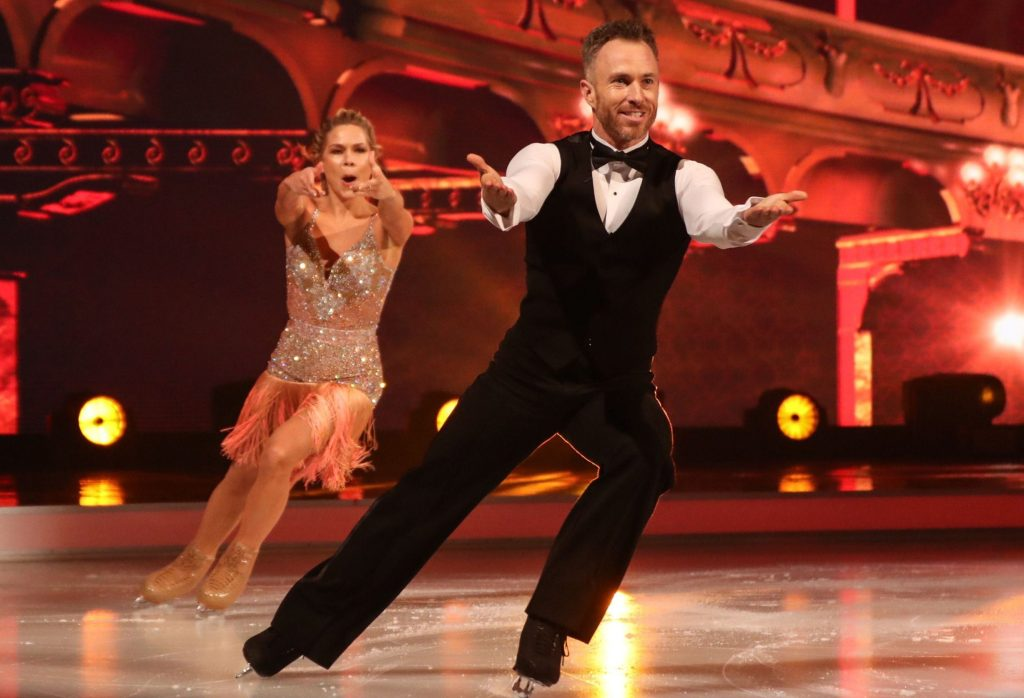 Dancing On Ice's James Jordan back on ice after tearing open hernia in training