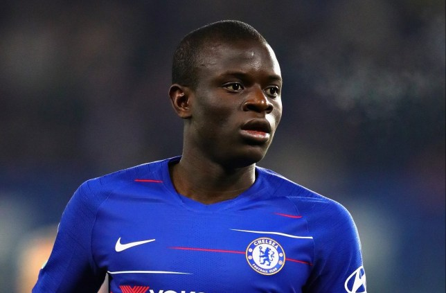 N'Golo Kante of Chelsea in action during the Carabao Cup Semi-Final Second Leg match between Chelsea and Tottenham