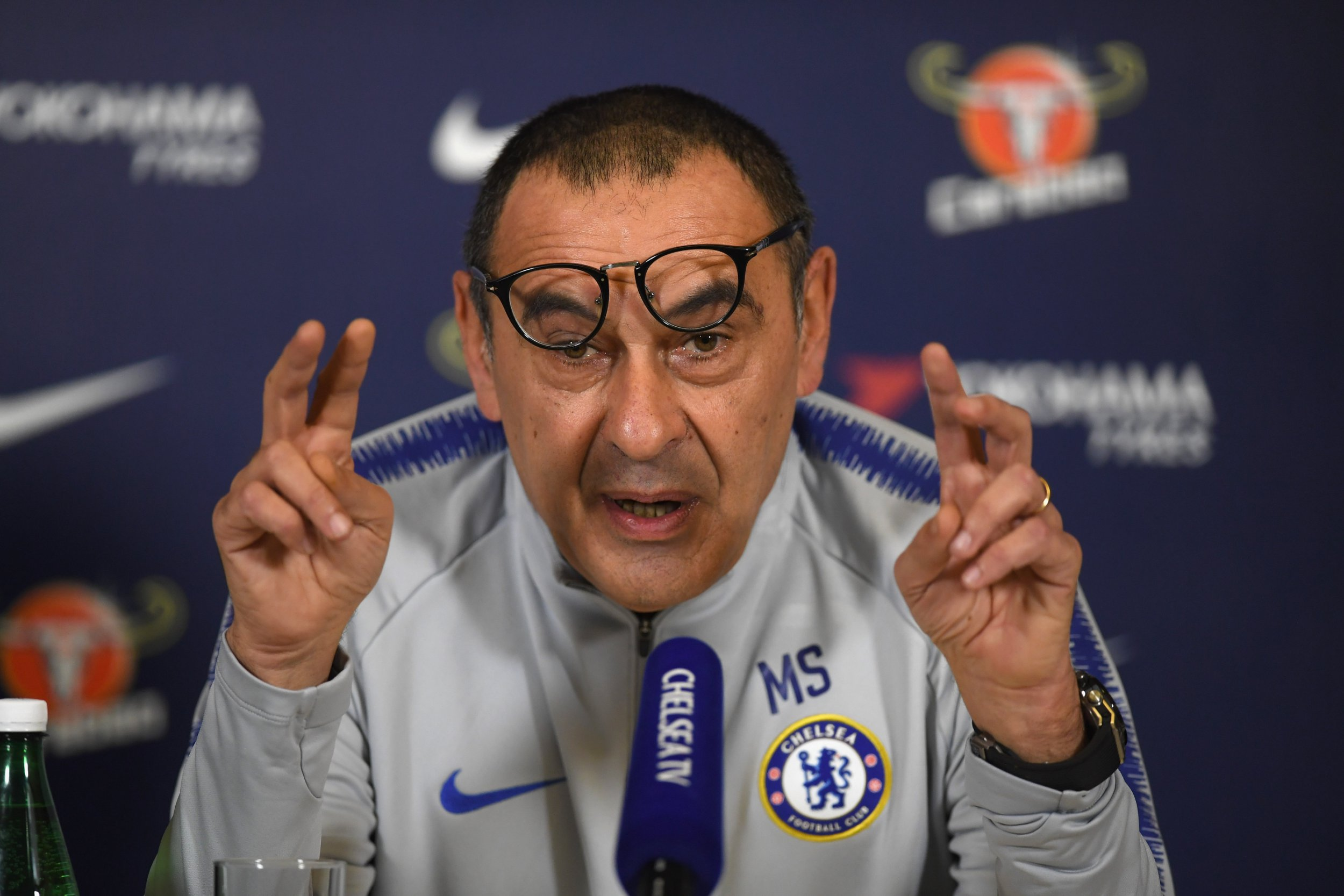 Every word from Chelsea manager Maurizio Sarri on Eden Hazard, Gonzalo Higuain & tactics v Man City