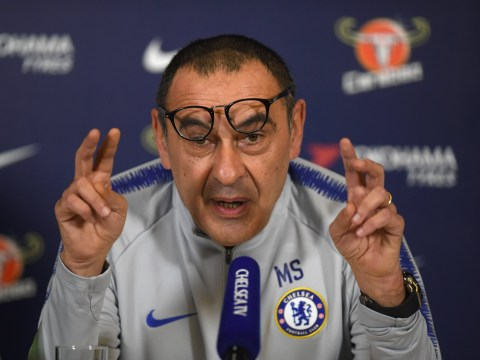 Gary Neville predicts Chelsea manager Maurizio Sarri will be sacked at the end of the season