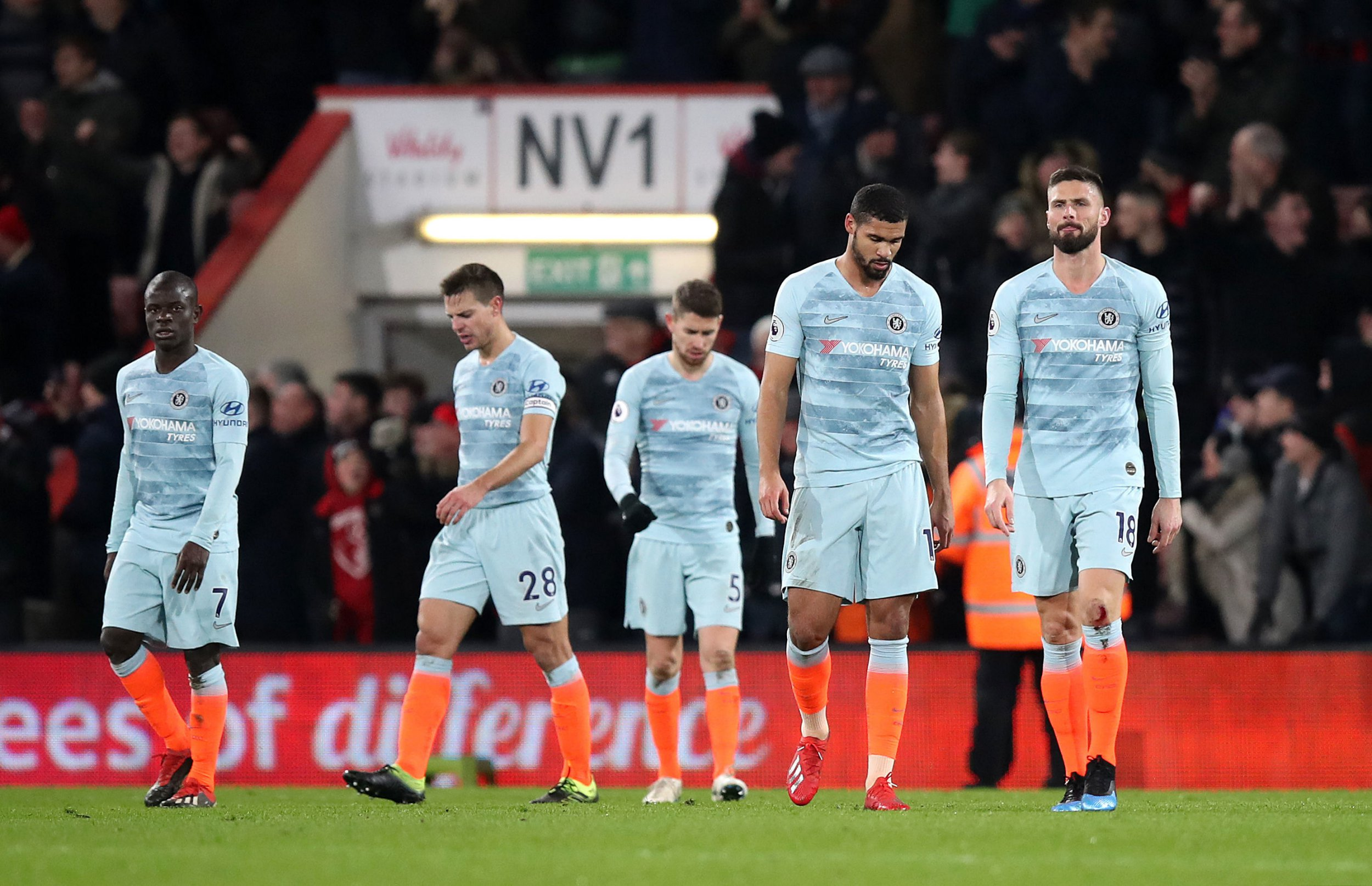 Antonio Rudiger blames Chelsea's attacking players for heavy Bournemouth defeat
