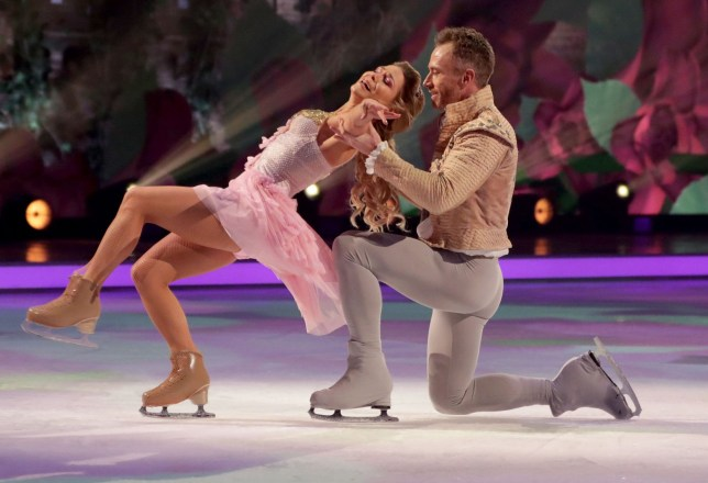 Editorial use only Mandatory Credit: Photo by Matt Frost/ITV/REX (10080492go) James Jordan and Alexandra Schauman 'Dancing on Ice' TV show, Series 11, Episode 5, Hertfordshire, UK - 03 Feb 2019