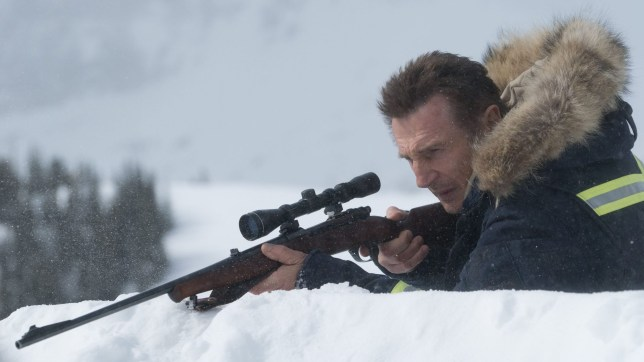 Mandatory Credit: Photo by Doane Gregory/LILO/SIPA/REX/Shutterstock (10044140b) Liam Neeson 'Cold Pursuit' film stills, Vancouver, Canada - 11 Apr 2017