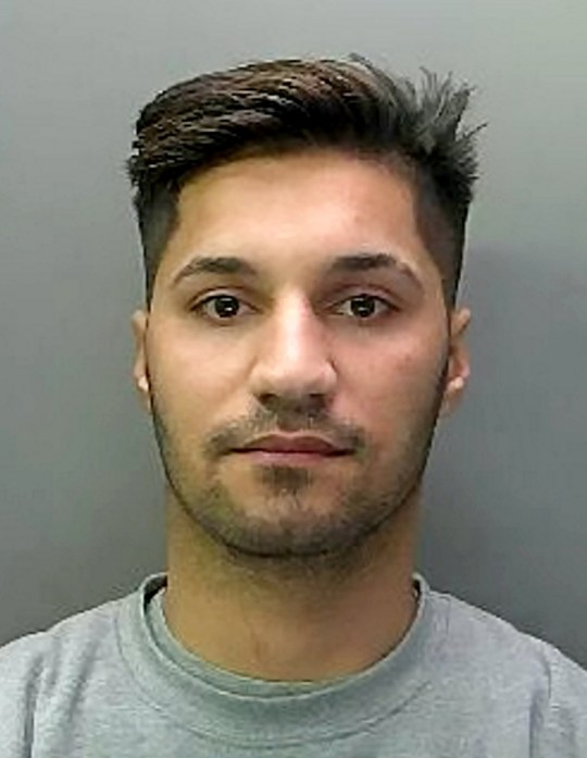 Rekan Kakarash, 21, from Peterborough, Cambs. See SWNS story SWCAcookie. A man attacked a member of the public and stabbed him with a lock knife after being asked to wait his turn in a queue. Rekan Kakarash, 21, walked into Subway, in Lincoln Road, Peterborough, at just after 9am on 22 July of last year and immediately tried to order a cookie, ignoring the customer who was waiting for a sandwich at the till. The customer told Kakarash the solitary member of staff was making his sandwich, meaning he would have to wait in line. Kakarash responded by head-butting the 35-year-old man in the side of the head and making a stabbing motion with his car keys. The man stumbled backwards and there was a scuffle before Kakarash pulled the lock-knife from his pocket and the victim backed away until he was trapped against the wall of the shop. A struggle ensued and Kakarash stabbed the victim in the shoulder. The victim managed to hold Kakarash on the floor and police were called.