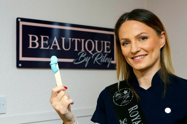 Christina White,34, is offering free bikini waxes to girls who have booked a smear test, to raise awareness of its importance.See National News story NNsmear.Beauty salons are offering free bikini waxes to encourage women to go for their smear test.Pinky's Beauty and Beautique by Riley are offering the free treatment to customer who want to feel more confident ahead of their pending cervical screening test.Katie Pickett, who owns Pinky's Beauty, launched her 'preen for your screen campaign' for Cervical Cancer Awareness month and had six women book their smear test within two days.Two women die from cervical cancer every day and one in four miss their screening test but Katie's generous offer is encouraging women to shed their embarrassment and go for a check-up.