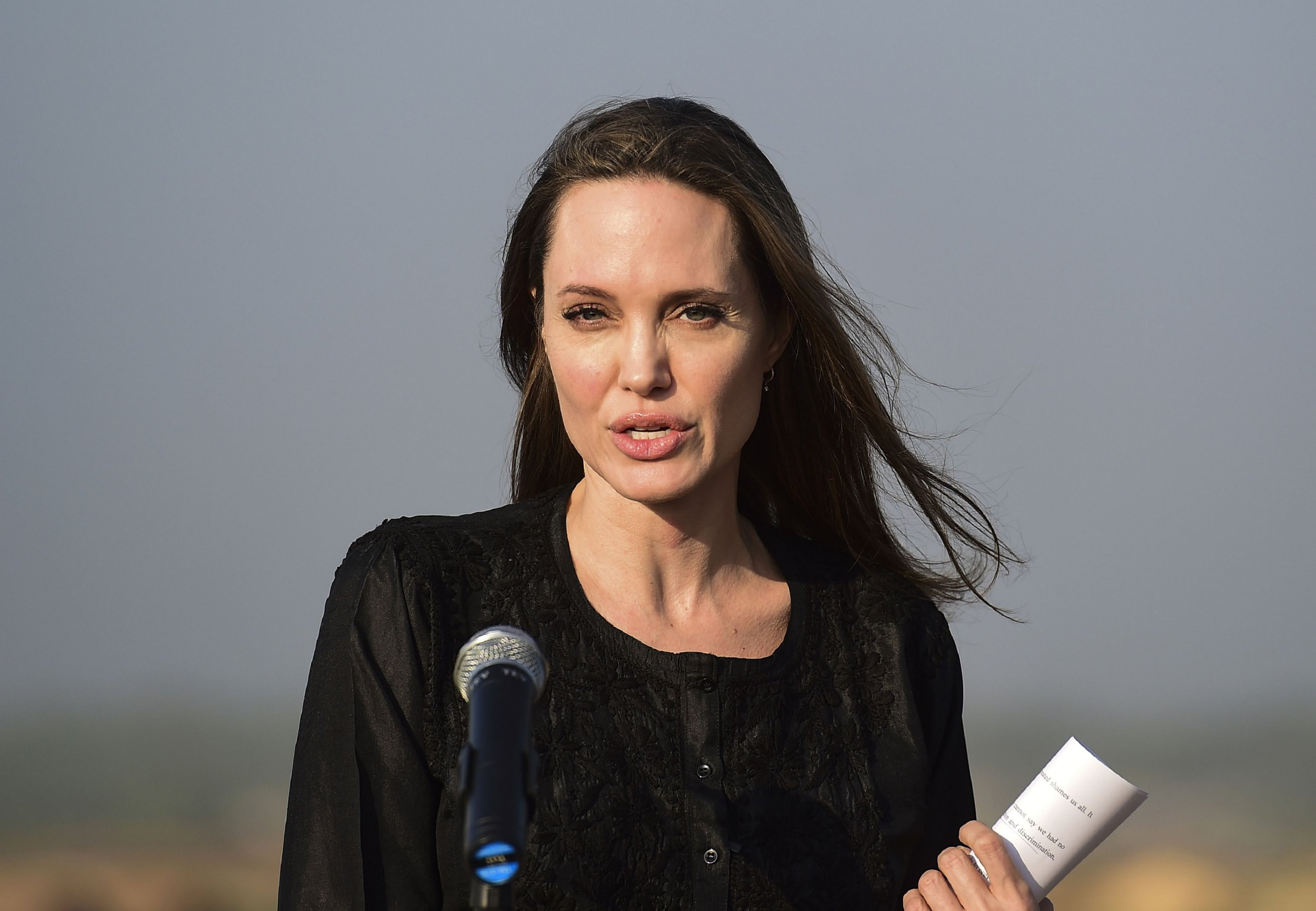 Angelina Jolie 'deeply upset' to visit Rohingya refugee camp ahead of UN's $1 billion aid appeal