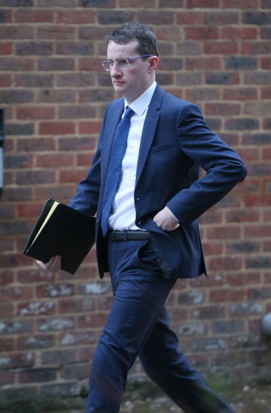 Bafta-nominated film director Stephen Fingleton at Isleworth Crown Court where he is accused of sexual assault on an actress at her London flat. PRESS ASSOCIATION Photo. Picture date: Monday February 4, 2019. See PA story COURTS Fingleton. Photo credit should read: Jonathan Brady/PA Wire