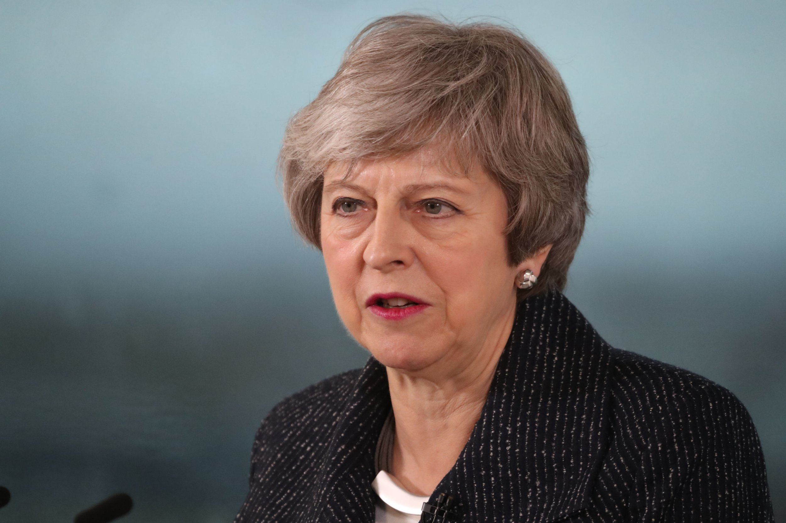 Theresa May 'unshakeable' on Irish border but knows her Brexit plan won't pass