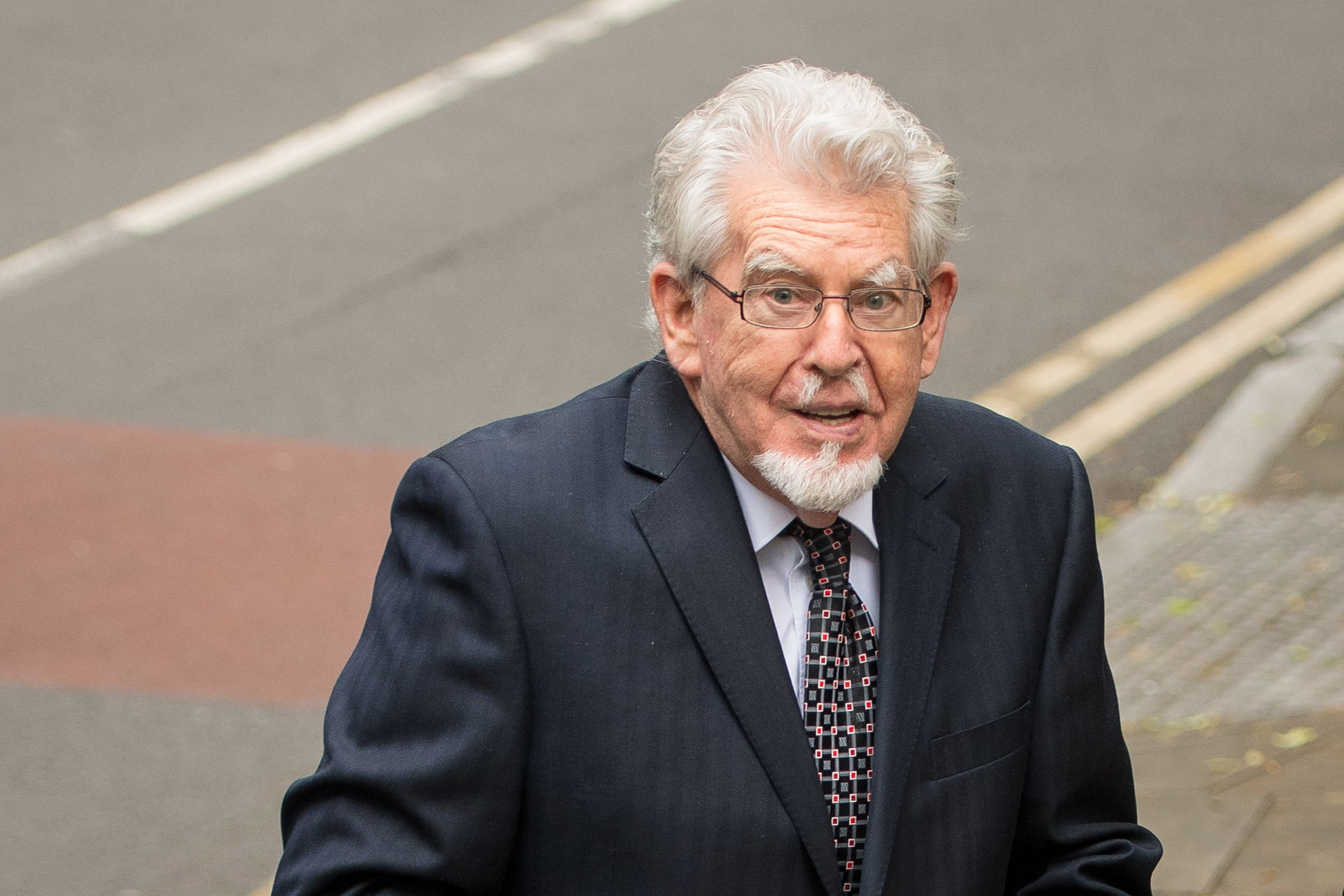 When was Rolf Harris released from prison and how much time did he serve?