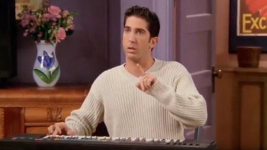 Friends' Ross Geller (David Schwimmer) looks exactly like