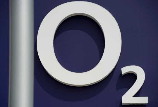 b4ac704d2b18df A logo of European broadband and telecommunications giant O2 is pictured in  Berlin on July 26