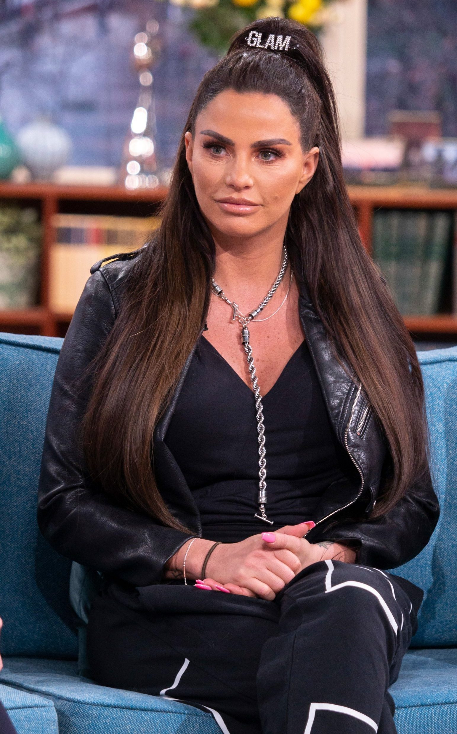 Editorial use only Mandatory Credit: Photo by S Meddle/ITV/REX (10099305d) Katie Price 'This Morning' TV show, London, UK - 08 Feb 2019 KATIE PRICE: ?HARVEY IS NOW A DANGER TO HIMSELF? As one in four carers say they are close to breaking point and haven?t had a day off in more than five years, Katie Price has made the brave admission that she also struggles to cope and has made the decision to put her son into residential care. The disability rights campaigner and mother-of-five says Harvey - who has a number of medical conditions - is a danger to not only himself but the rest of the family. Joining Katie is agony aunt Deidre Sanders, who says getting professional help is the right thing to do, no matter how heartbreaking the decision is.