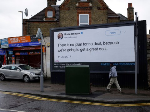 Giant billboards mocking Leave MPs is work of 'four p****d off dads'