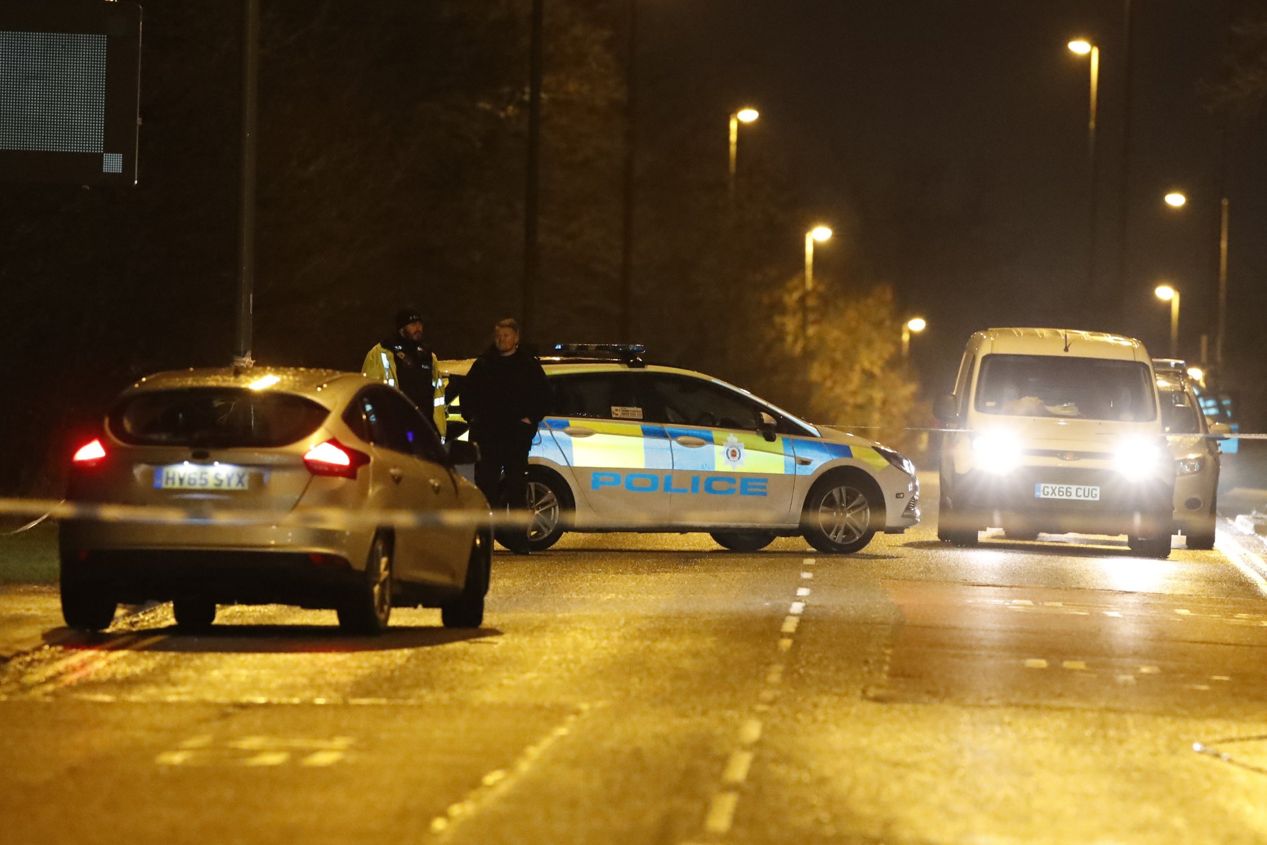 Two arrested after woman was stabbed to death in broad daylight in Surrey
