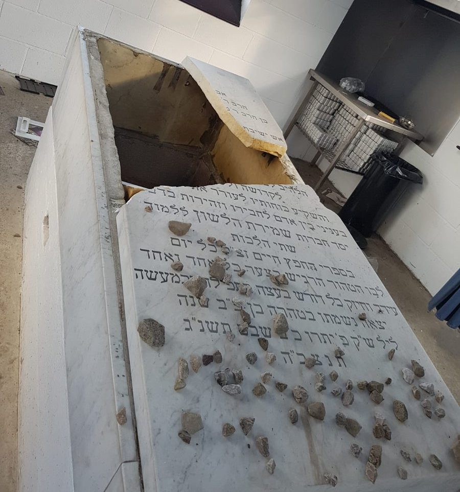 Jewish cemetery desecrated in hate crime attack