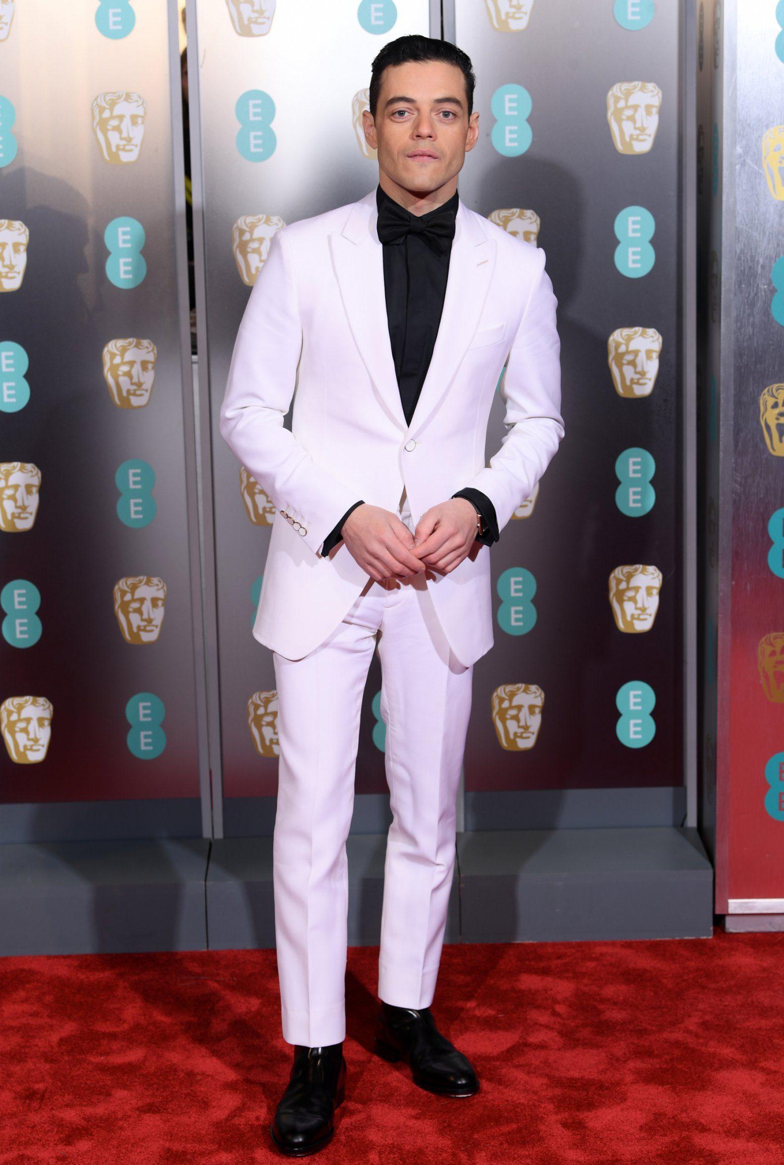 Mandatory Credit: Photo by David Fisher/BAFTA/REX (10082374ik) Rami Malek 72nd British Academy Film Awards, Arrivals, Royal Albert Hall, London, UK - 10 Feb 2019