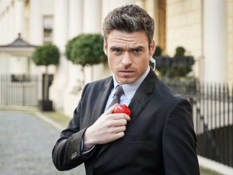 Richard Madden is back as the Bodyguard for a Red Nose Day special