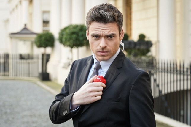 For use in UK, Ireland or Benelux countries only Undated BBC handout photo of Richard Madden as he reprises his Bodyguard role for Comic Relief. PRESS ASSOCIATION Photo. Issue date: Monday February 11, 2019. The actor returns as David Budd to protect the Red Nose for the charity special. See PA story SHOWBIZ Bodyguard. Photo credit should read: Comic Relief/PA Wire NOTE TO EDITORS: Not for use more than 21 days after issue. You may use this picture without charge only for the purpose of publicising or reporting on current BBC programming, personnel or other BBC output or activity within 21 days of issue. Any use after that time MUST be cleared through BBC Picture Publicity. Please credit the image to the BBC and any named photographer or independent programme maker, as described in the caption.