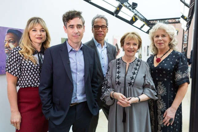 Portrait Artist Of The Year presenters and judges