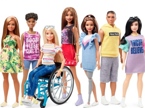 Mattel launches Barbie in a wheelchair and one with a prosthetic leg