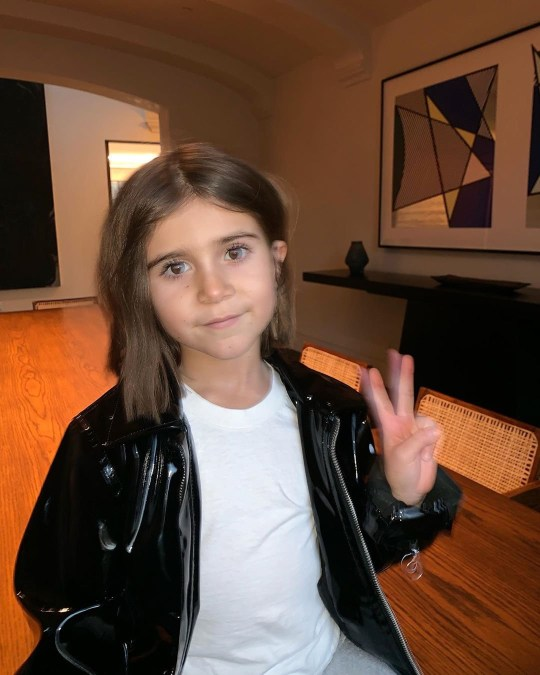 METROGRAB: Penelope Disick, 6, has had her first-ever haircut and it's already cooler than yours