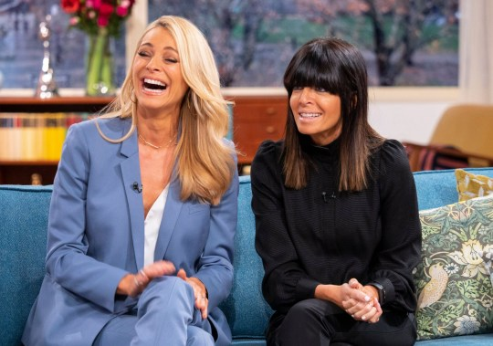 Editorial use only Mandatory Credit: Photo by Ken McKay/ITV/REX (10102531aj) Tess Daly and Claudia Winkleman 'This Morning' TV show, London, UK - 12 Feb 2019 TESS DALY AND CLAUDIA WINKLEMAN: ?THIS CHALLENGE IS HARDER THAN CHILDBIRTH? Strictly might be over, but Tess and Claudia have certainly kept dancing. They?re about to take on their biggest challenge ever - as they dance non-stop for 25 hours straight, in aid of Comic Relief. They?ll be waltzing into our studio to tell us how they plan to keep those toes tapping and reveal their dream Strictly line-up for 2019.