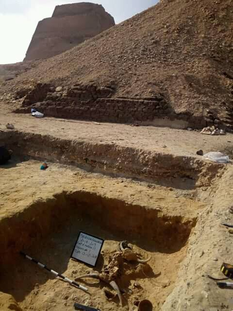 Skeleton of a teen girl discovered next to mysterious pyramid in
