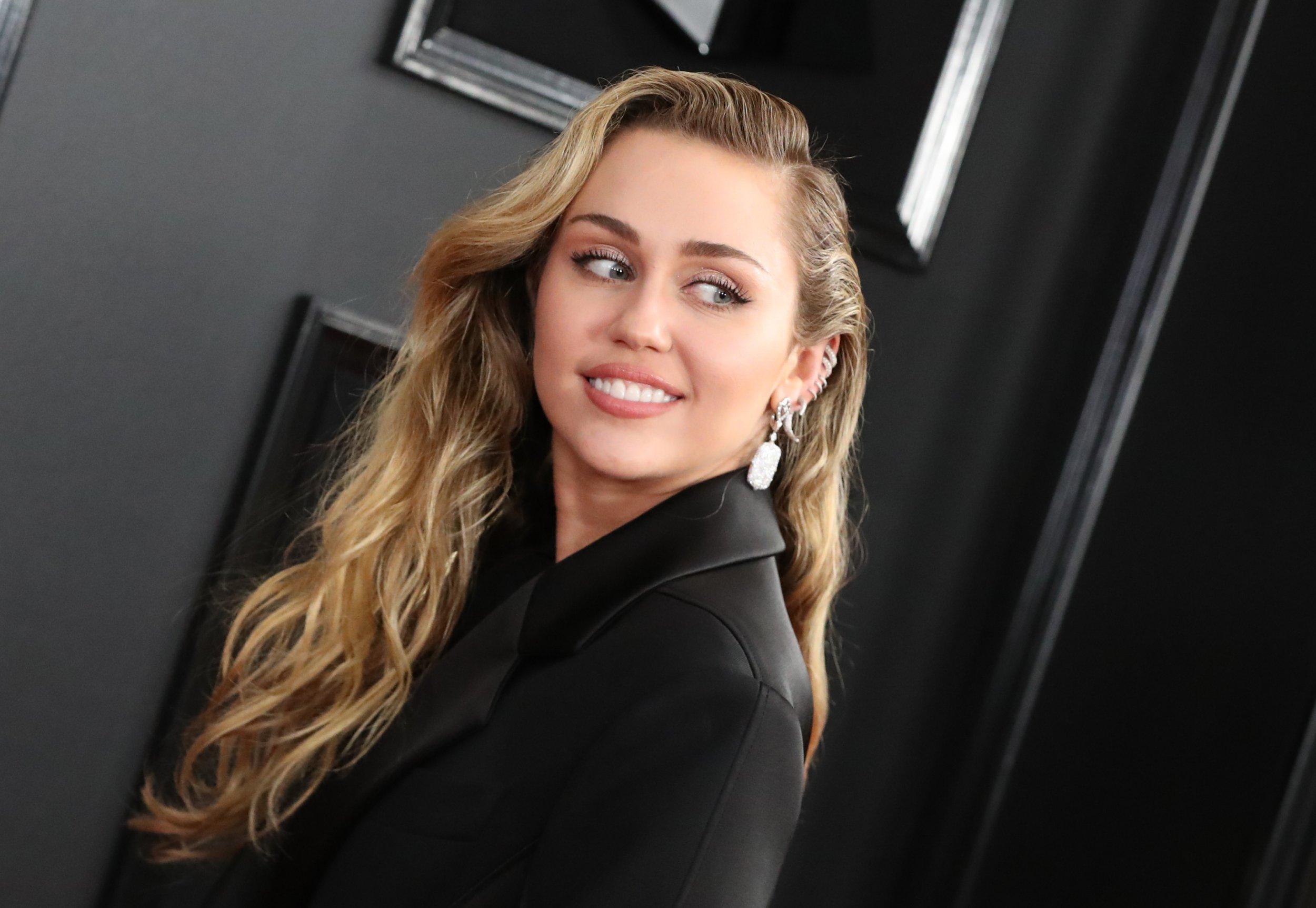 Mandatory Credit: Photo by Chelsea Lauren/REX/Shutterstock (10101309av) Miley Cyrus 61st Annual Grammy Awards, Arrivals, Los Angeles, USA - 10 Feb 2019