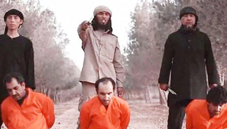 ISIS executioner, Muhammad Saifuddin, filmed beheading Western hostage is killed by tank shell in terror group?s last stand in SyriaThe terrorist's older brother said the family learned about the death through an gruesome instant messaging app picture