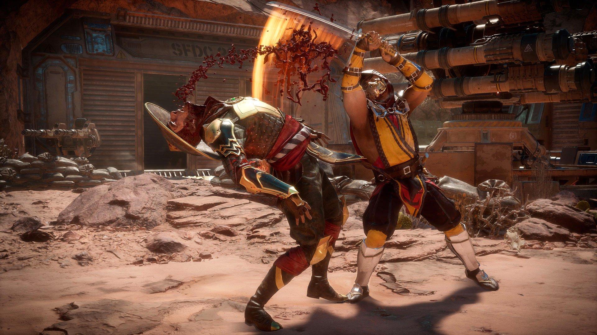 Mortal Kombat 11 (Picture: Warner Bros. Interactive Entertainment)