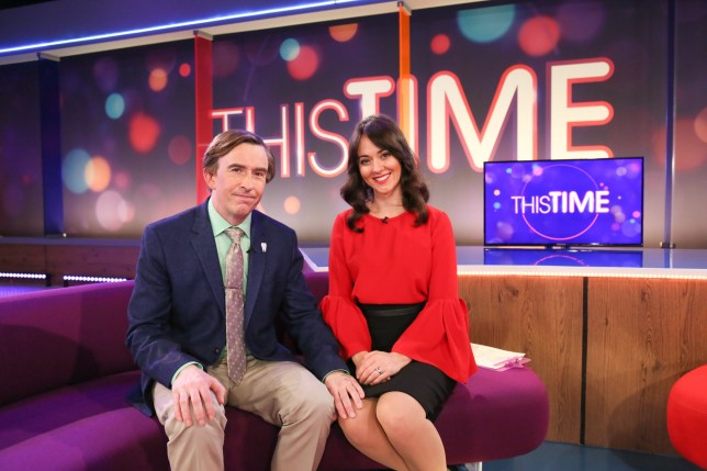Steve Coogan and Susannah Fielding in This Time With Alan Partridge