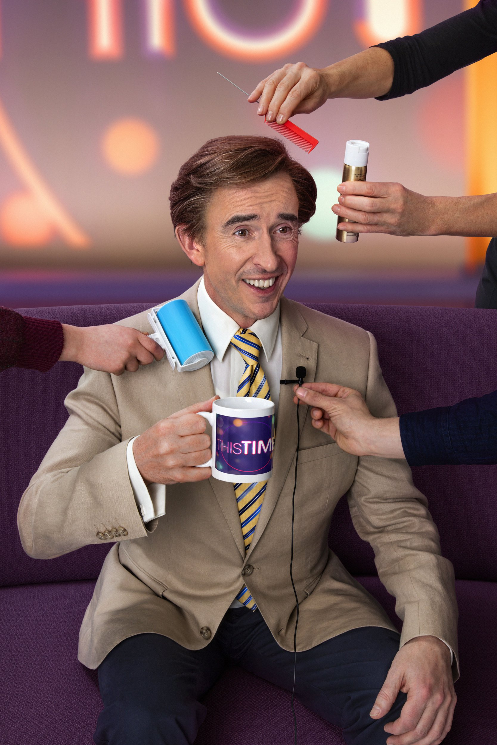 The nation has gone Alan Partridge mad as British comedians celebrate 'genius' return