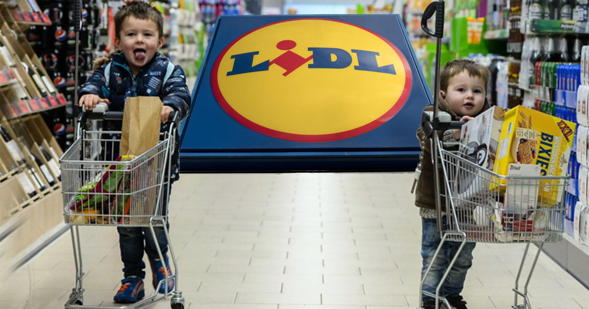 Lidl introduces mini children's trolleys to its UK stores