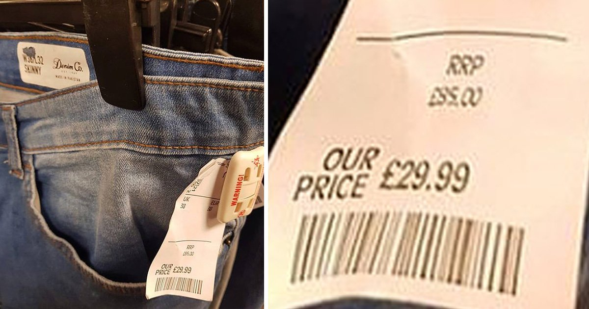 Guy finds Primark jeans in TK Maxx selling for twice the original price