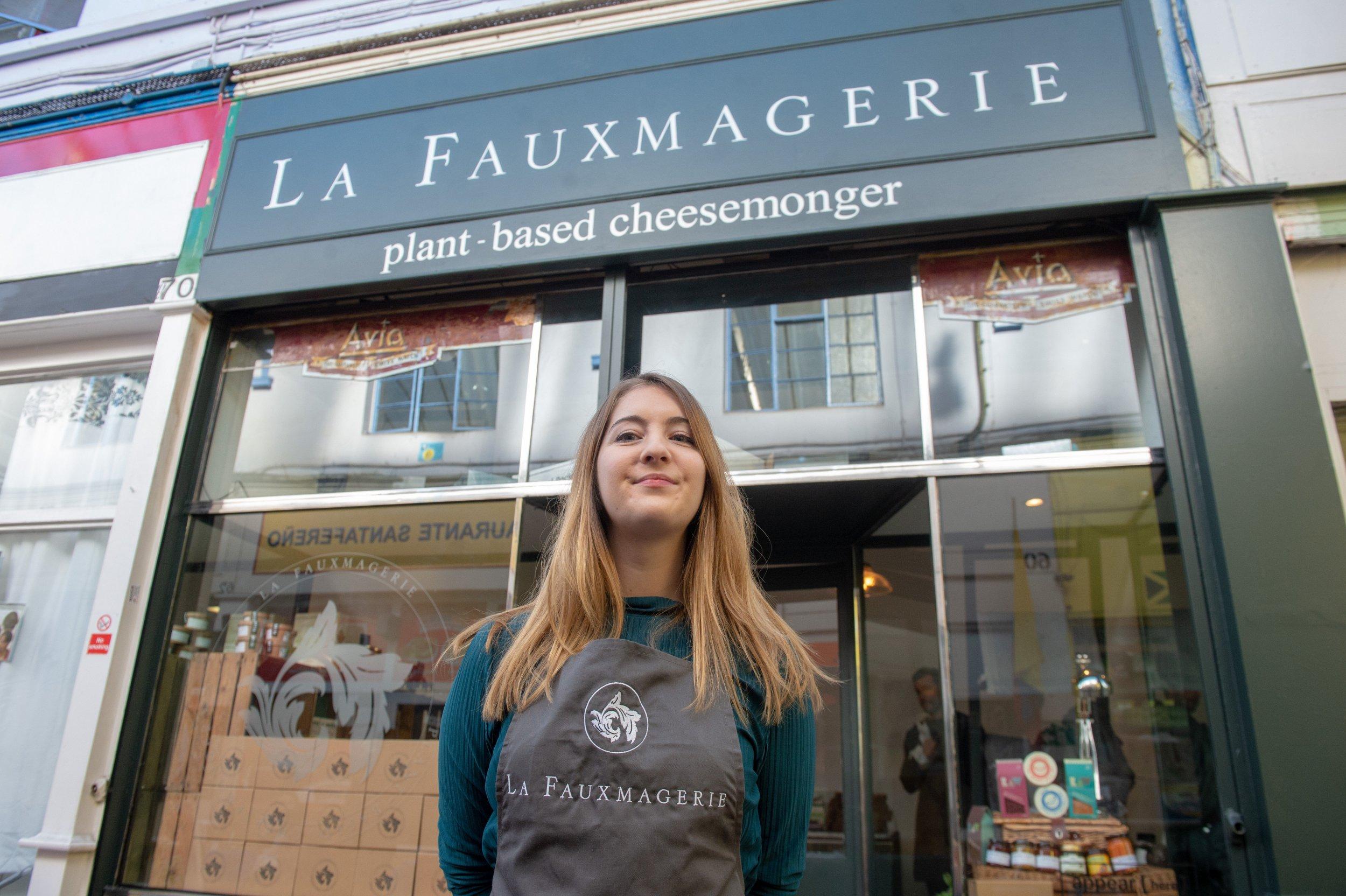 Vegan cheesemonger La Fauxmagerie opens in London