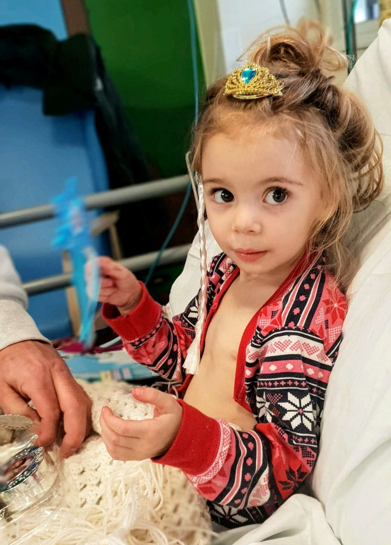 """Four-year-old Thalia-Beau Wright. A mother-of-two has spoken of the devastating moment she was told her four-year-old daughter had a """"one in a million"""" condition -- which means she is in need of a HEART transplant. See SWNS story SWLEheart. Ellie-Mae Wright, 22, said her """"world changed forever"""" after her daughter Thalia-Beau Wright was diagnosed with Restrictive Cardiomyopathy on November 16, 2018. The condition is an ultra-rare form of muscle disease which stiffens the ventricles around the heart. The devastating diagnosis came just two days after Thalia-Beau - who was prone to infections but otherwise a healthy girl - was admitted to hospital with a suspected chest infection. Ellie-Mae was told by doctors the only hope for her """"sassy"""" and """"bubbly"""" daughter was a heart transplant - as the condition currently has no cure or treatment."""