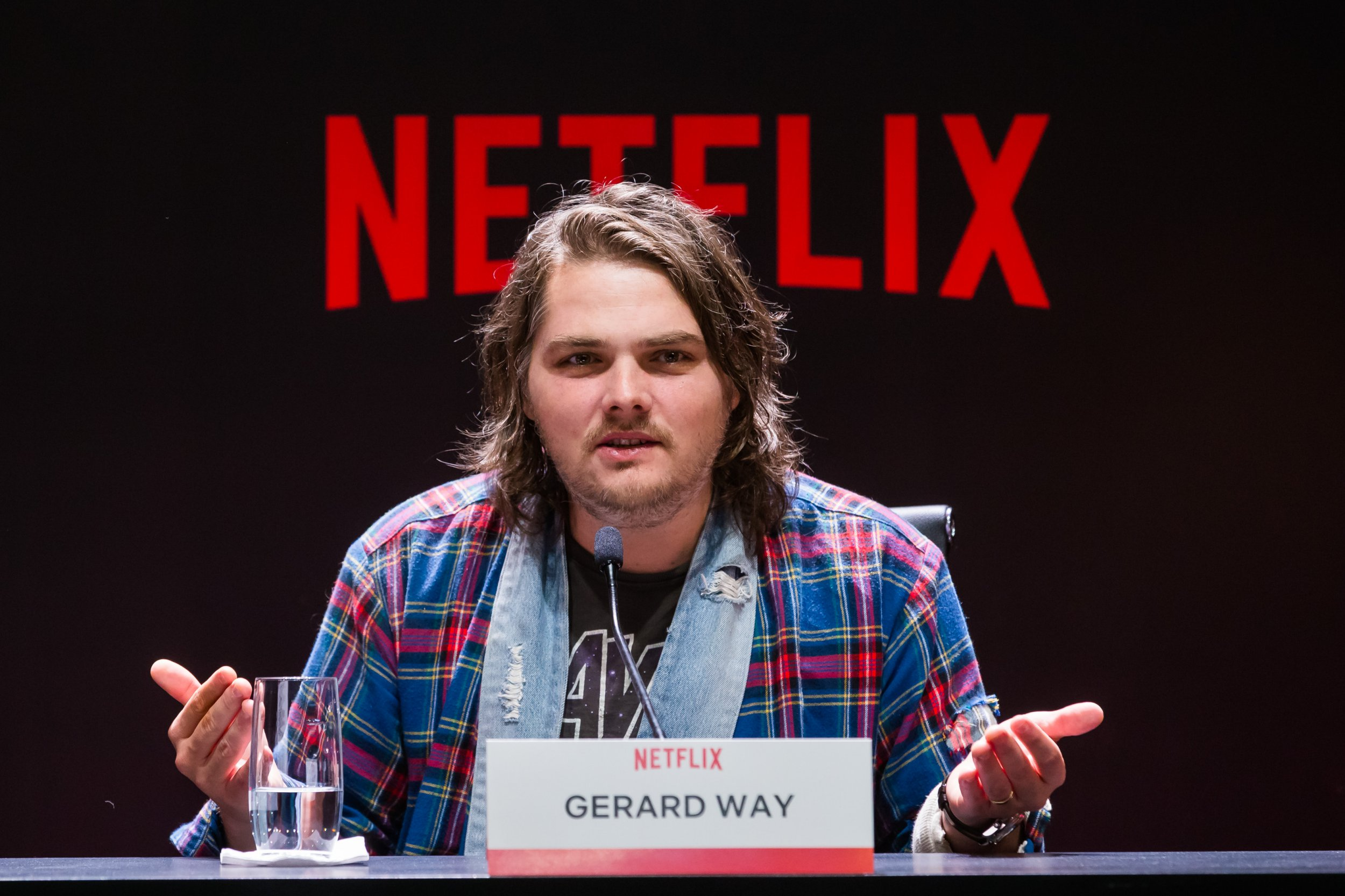 Who is Gerard Way, who wrote The Umbrella Academy comic books?