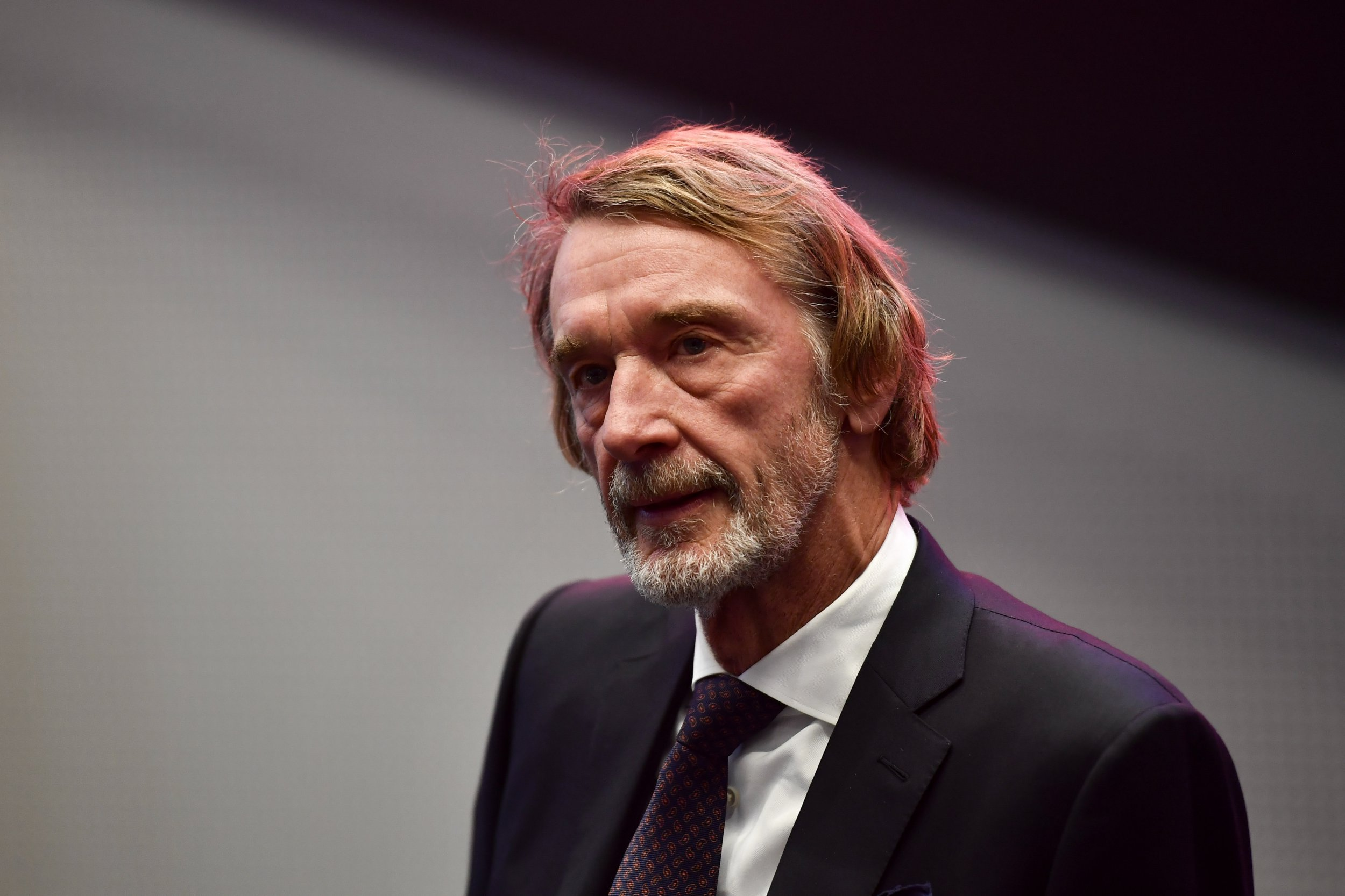 INEOS Group chairman Sir Jim Ratcliffe pictured during the signing of an investment pact between chemicals group Ineos and the Antwerp harbor, Tuesday 15 January 2019 in Antwerp. BELGA PHOTO DIRK WAEM (Photo credit should read DIRK WAEM/AFP/Getty Images)