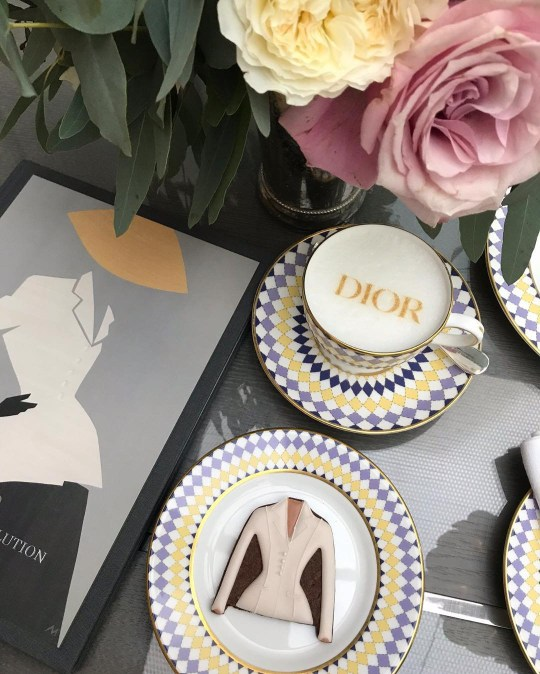 Picture: The Berkeley Dior afternoon tea launches