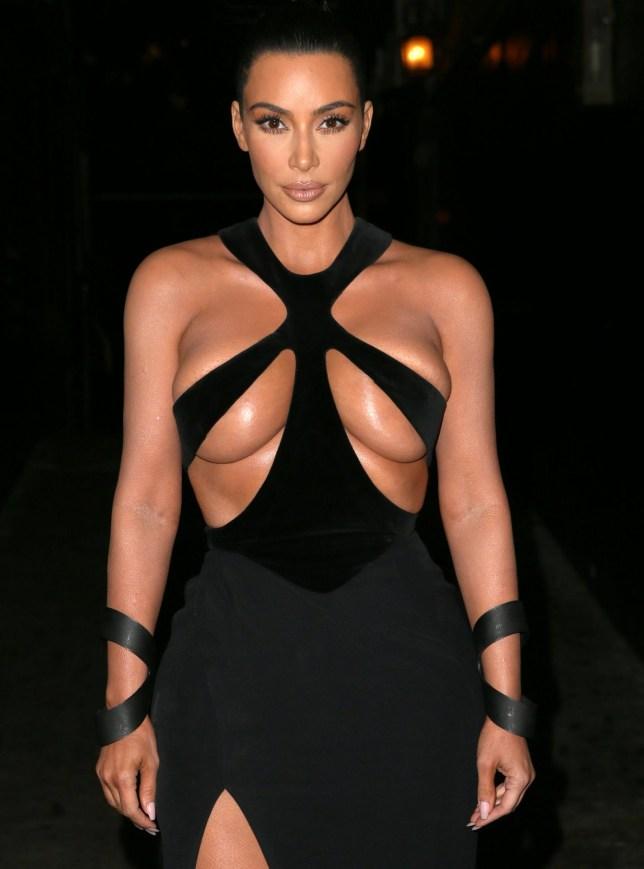Mandatory Credit: Photo by MediaPunch/REX (10109473m) Kim Kardashian West 5th Annual Hollywood Beauty Awards, Inside, Los Angeles, USA - 17 Feb 2019
