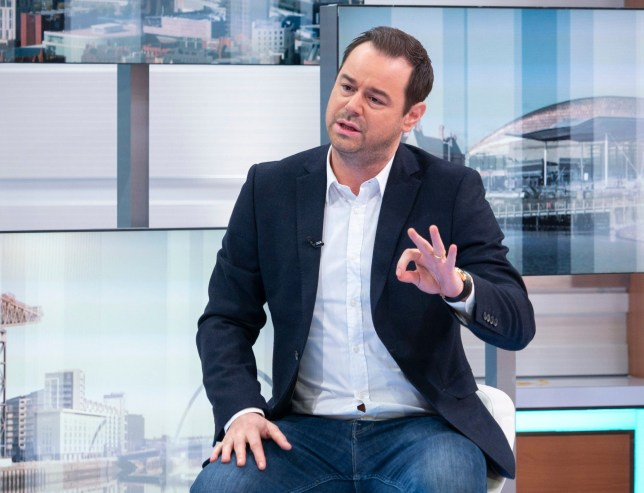 Editorial use only Mandatory Credit: Photo by S Meddle/ITV/REX (10109535ae) Danny Dyer 'Good Morning Britain' TV show, London, UK - 18 Feb 2019 GMB PRINCE'S TRUST MENTOR OF THE YEAR AWARD Viewers have just four days to vote for this year's Mentor of the Year. VT: Mentor finalists Mediawall: Danny Dyer
