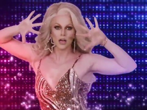 Courtney Act makes Dancing With The Stars debut and, frankly, this needs to be seen to be believed